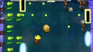 Let's Play Plants Vs Zombies 47 PORTAL COMBAT!