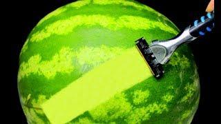 EVDE YAPABİLECEĞİNİZ 10 EN HAVALI İPUCU -(Simple Watermelon Hacks)🍉