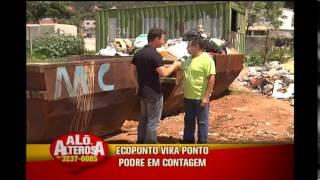 Moradores denunciam Ecoponto da Prefeitura que virou lix�o em Contagem