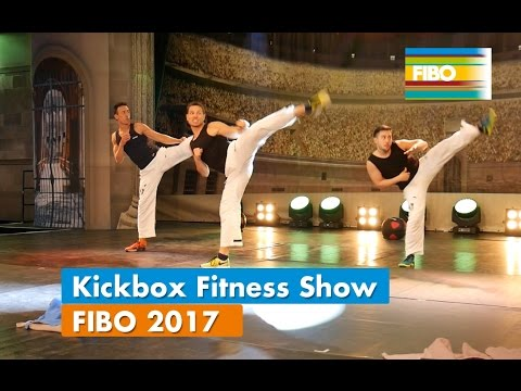 KiBo Kickbox Fitness Show auf der FIBO 2017