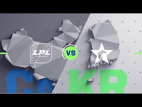 CN vs KR - All Stars Semifinals Match Highlights (2017)