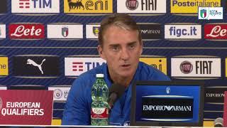 """Mancini: """"Inizia il nostro vero obiettivo, qualificarci a Euro 2020"""""""