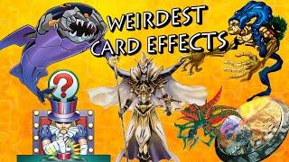 Yu-Gi-Oh - Top 10 Weirdest Card Effects