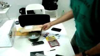 Tutorial Móveis Troca Do Vidro Do IPhone 3G Móveis