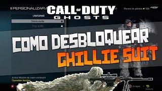 "CoD Ghosts Como Desbloquear A ""Ghillie Suit"" No Modo"