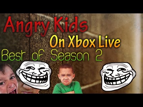 ANGRY KIDS ON XBOX LIVE!!! (Best Of Season 2)
