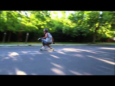 Longboard Carolina Rabat // Slow Motion