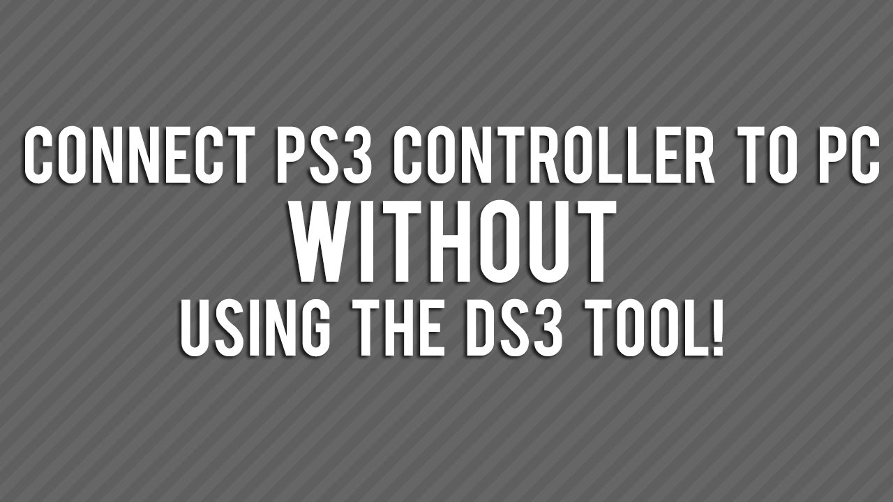 how to turn on ps3 controller on pc