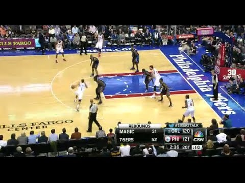 NBA Orlando Magic vs Philadelphia 76ers Game Highlights | December 3 2013