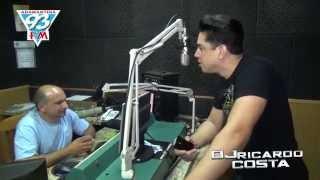 DJ Ricardo Costa Na 93 FM Adamantina SP Com Leandro