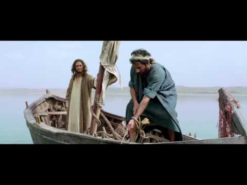 'Jesus and Peter' from the Epic Motion Picture 'Son of God'