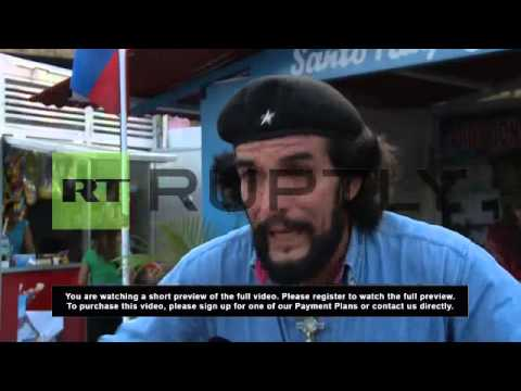 "Venezuela: ""el Che"" returns in support of Maduro"