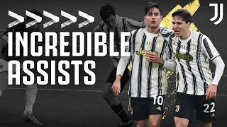 🤝?🔥?? The Best Juventus Assists!   Dybala, Cuadrado, Morata & More!   Juventus