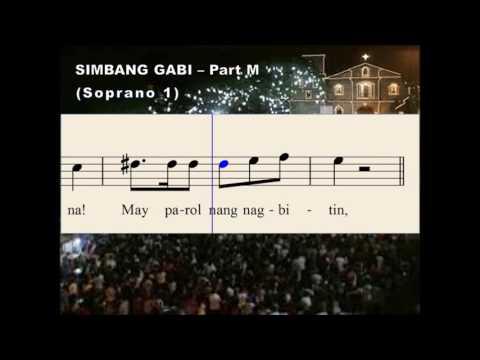 Q31a Simbang Gabi - Part M (Soprano 1)