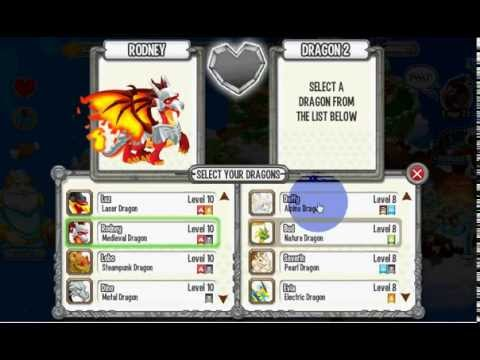 how to get monstrous dragon in dragon city by breeding