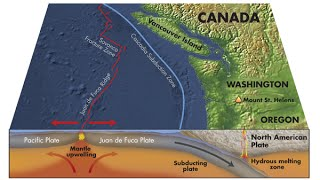 Cascadia Earthquake Animation 9.0