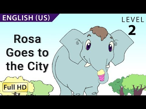 "Rosa Goes to the City: Learn English with subtitles - Story for Children ""BookBox.com"""