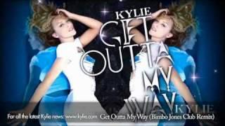 Kylie Minogue 'Get Outta My Way' (Bimbo Jones Club Remix) view on youtube.com tube online.