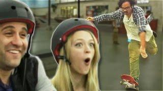 Non-Skaters Vs. Pro Skaters