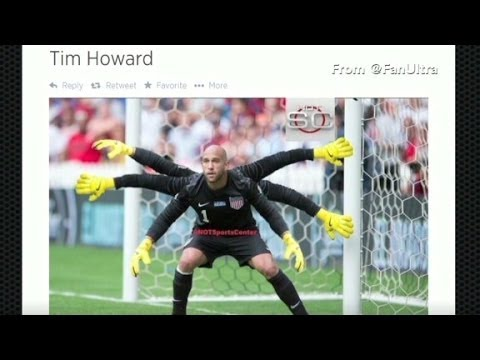 Hail to the goalie, Tim Howard