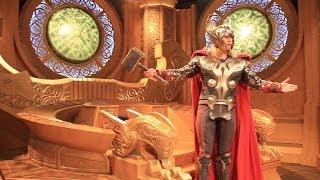 Thor: Treasures Of Asgard Opens At Disneyland Featuring