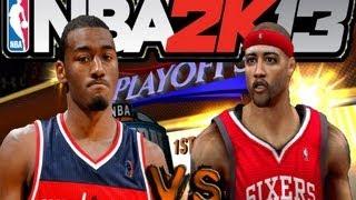 NBA 2K13 MyCareer: 50pts My Best SG Ever Playoffs R1