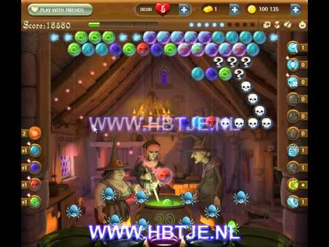 Bubble Witch Saga level 174