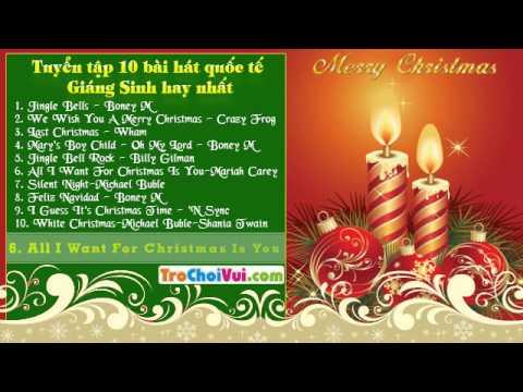 Tuyển chọn 10 bài hát quốc tế giáng sinh, noel hay nhất thế giới