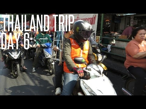 Travelling to Hua Hin - Thailand Trip Day 6 (19th December 2013)
