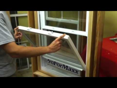 How To Clean Your Vinyl Replacement Windows With Tilt In