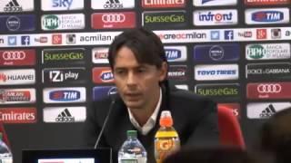 Milan, Inzaghi: 'Menez non giochi da solo. Credo in Torres e conto su Mexes'
