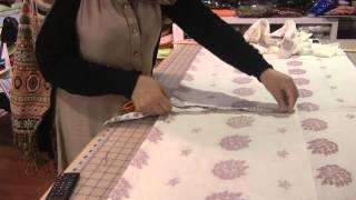 Cutting Simple Kameez