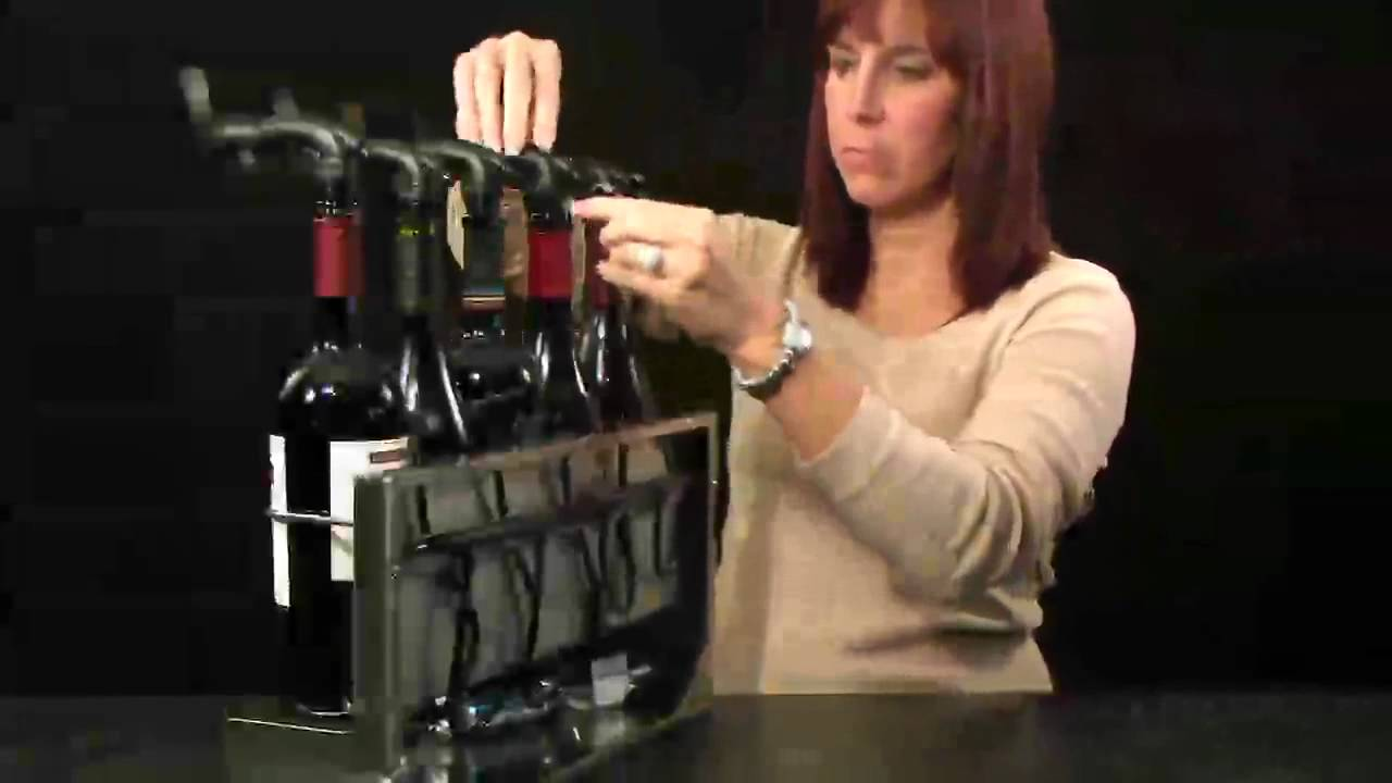 Wine Saver Pro Wine Preservation And Dispensing System