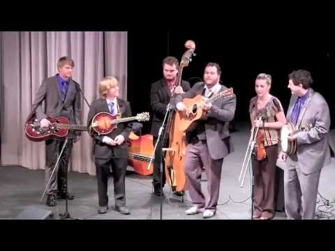 ETSU Bluegrass Pride Band for 2013-14- All Bands Extravaganza at Renaissance Center