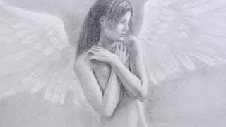 Como dibujar un ángel