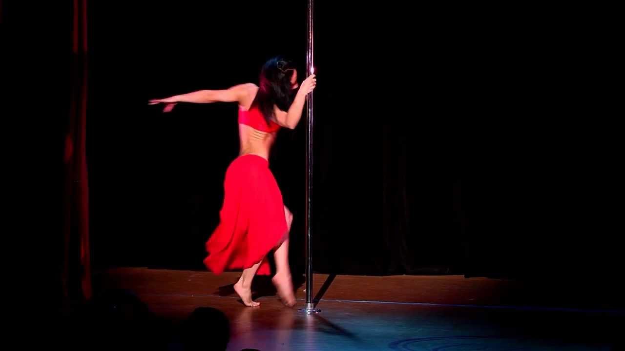 """Отчетный концерт pole dance  26.05.2013 в клубе """"Олимпия"""". Любовь Смирнова."""