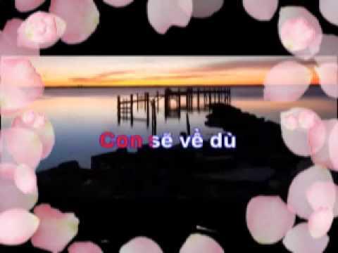 thanhle_77 Karaoke Beat Full BÓNG DÁNG MẸ HIỀN ( Beat Bong Dang Me Hien NHAC SONG )