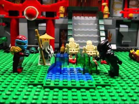 LEGO NINJAGO THE MOVIE PART 17 TRAILER THE NINJA OF WATER