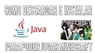 Como Descargar E Instalar Java Para Poder Jugar