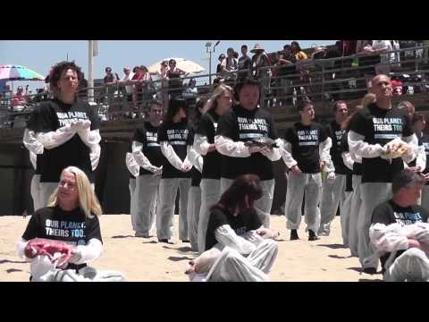 Dead Animal Protest Santa Monica on May 31, 2014 NARD