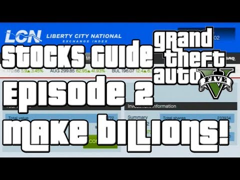 GTA 5 How To Make a Billion Dollars Stock Market Guide Ep 2,