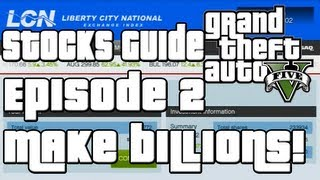 GTA 5 How To Make A Billion Dollars Stock Market Guide Ep
