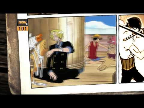 逢周一至周五晚上11點now101台有《海賊王》(One Piece)