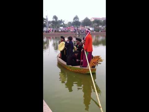 Festival Bắc Ninh 2014 - Ba quan mời trầu - Quan họ trên thuyền
