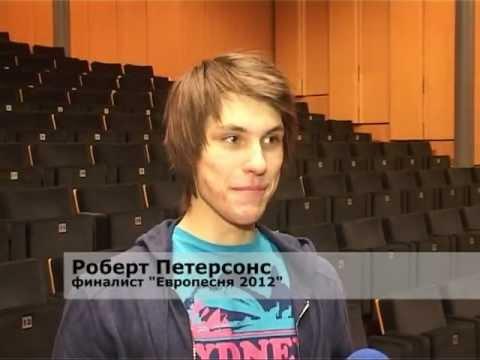 Смотреть видео Город Вентспилс  на «Европесня — 2012» представляет Р.Петерсонс