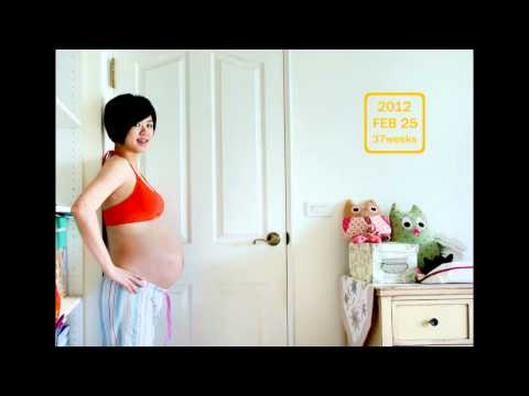 懷孕記錄My growing belly-pregnancy time lapse