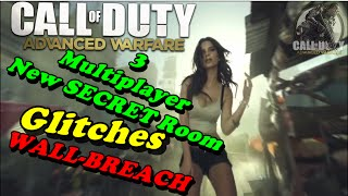 CoD Advanced Warfare 3 New SECRET Room Glitches ★ WALL