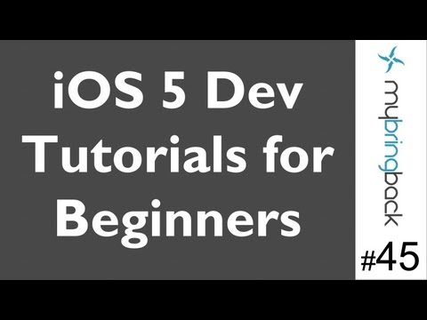 Learn Xcode 4.2 Tutorial iOS iPad iPhone 1.45 Playing A Sound From Button (soundboard)