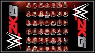 WWE 2K15 Official Roster Revealed & Details! (Superstars