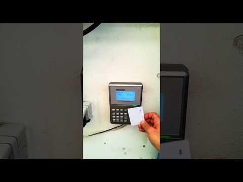 OC500 Anviz rilevazione presenze in TCP IP e card rfid installazione in provincia di Parma